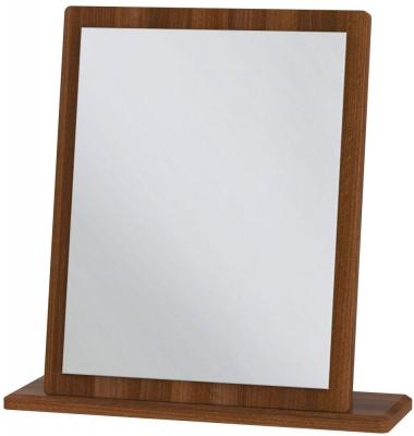 Camden Noche Walnut Small Mirror