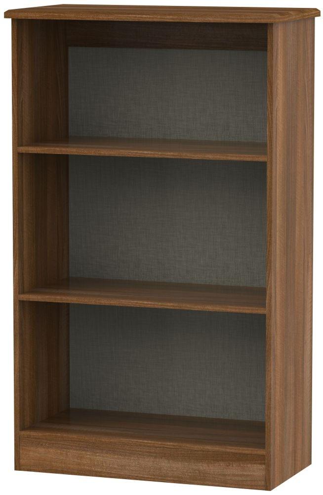 Camden Noche Walnut Bookcase