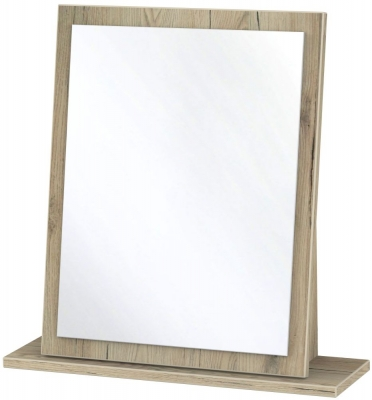 Camden Bordeaux Small Mirror