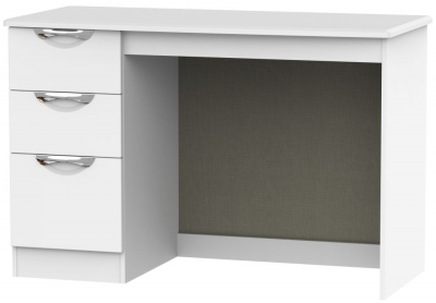 Camden White Matt Desk