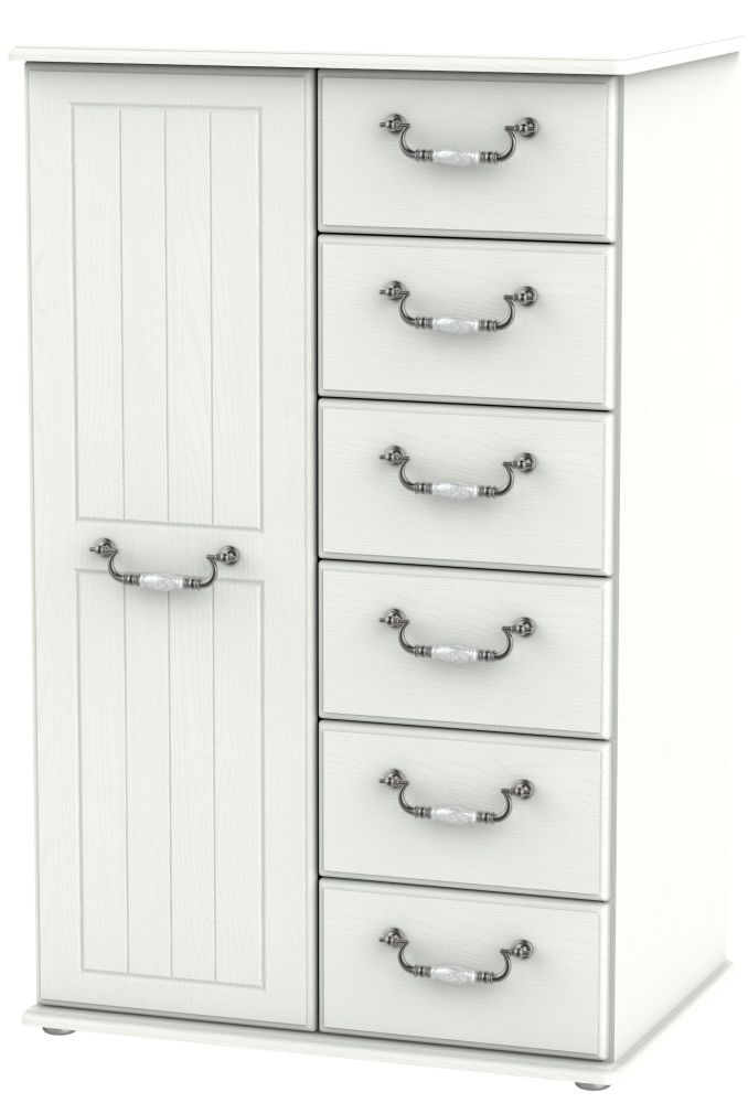 Coniston Cream 1 Door Children Wardrobe