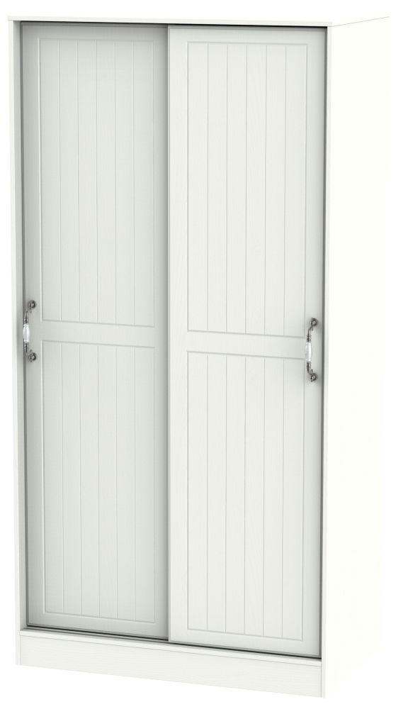 Coniston Cream 2 Door Sliding Wardrobe