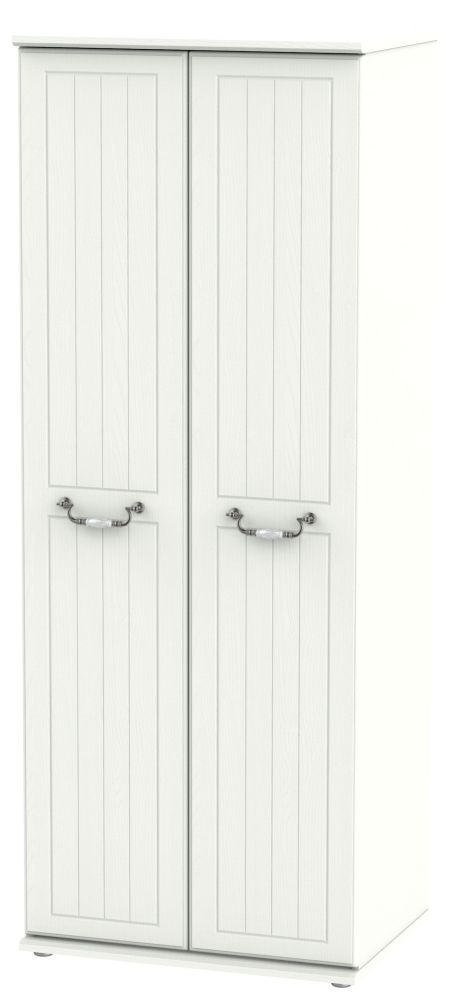 Coniston Cream 2 Door Tall Wardrobe