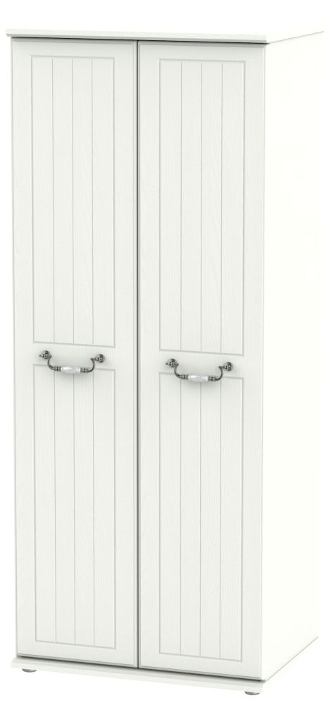 Coniston Cream 2 Door Wardrobe