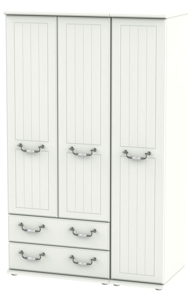 Coniston Cream 3 Door 2 Left Drawer Wardrobe