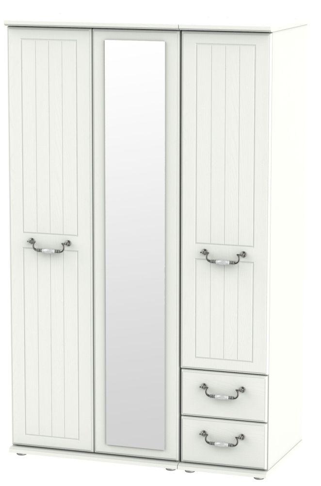 Coniston Cream 3 Door 2 Right Drawer Combi Wardrobe