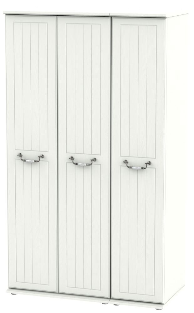 Coniston Cream 3 Door Tall Wardrobe