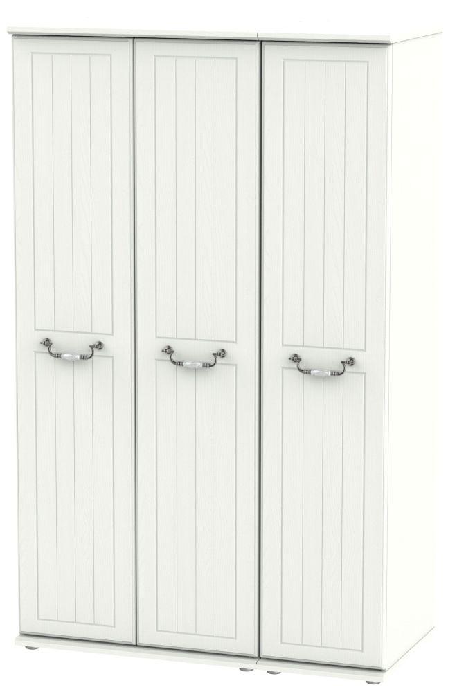 Coniston Cream 3 Door Wardrobe