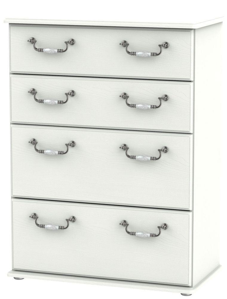 Coniston Cream 4 Drawer Deep Chest