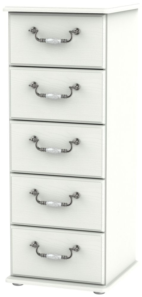 Coniston Cream 5 Drawer Tall Chest