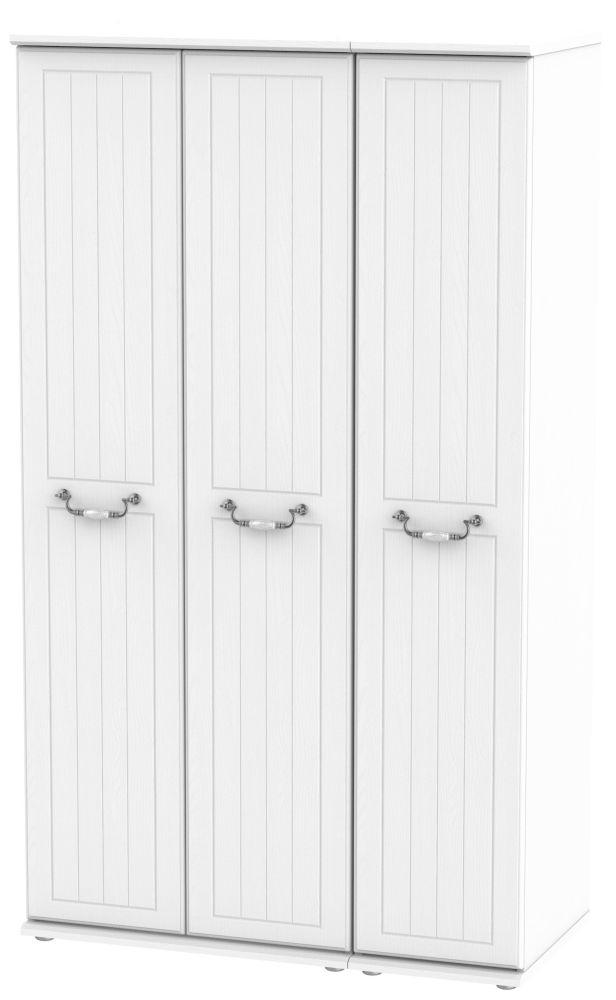 Coniston White 3 Door Tall Wardrobe