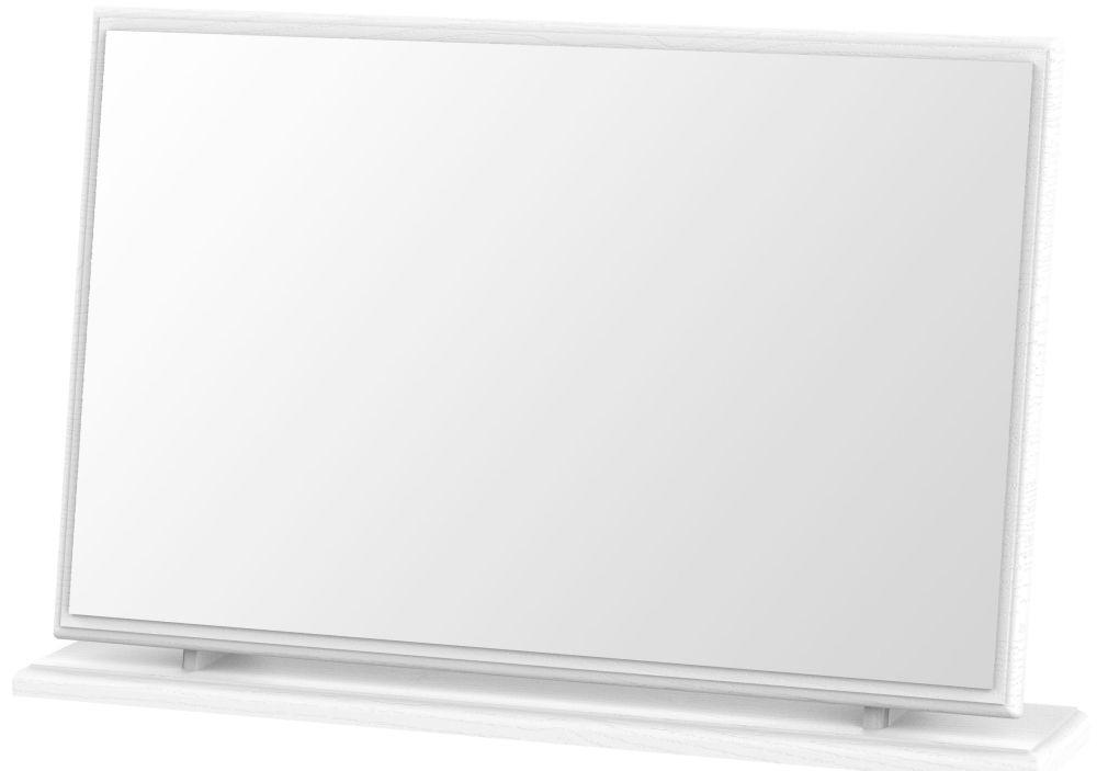 Coniston White Large Mirror
