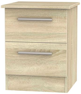 Contrast Bardolino 2 Drawer Bedside Cabinet