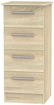Contrast Bardolino 4 Drawer Tall Chest