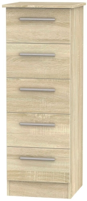 Contrast Bardolino 5 Drawer Tall Chest