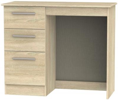 Contrast Bardolino Single Pedestal Dressing Table
