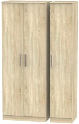 Contrast Bardolino 3 Door Wardrobe