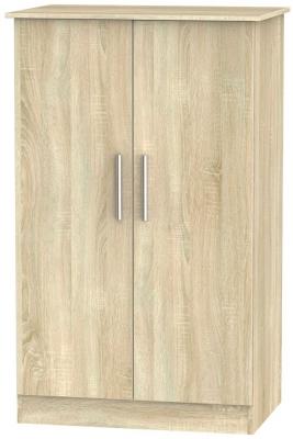 Contrast Bardolino 2 Door Midi Wardrobe