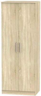 Contrast Bardolino 2 Door Wardrobe
