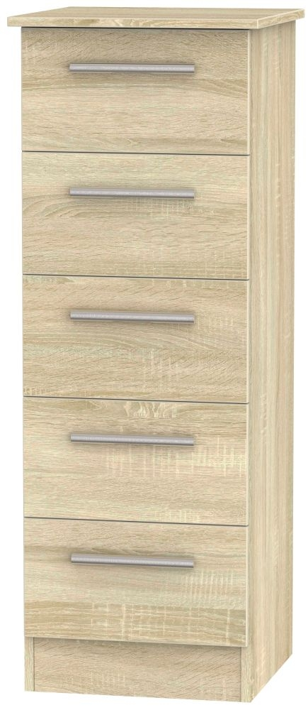 Contrast Bardolino 5 Drawer Locker Chest