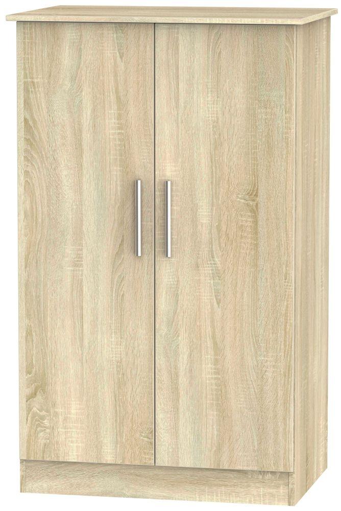 Contrast Bardolino Wardrobe - 2ft 6in Plain Midi