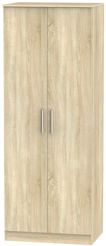 Contrast Bardolino Wardrobe - Tall 2ft 6in Plain