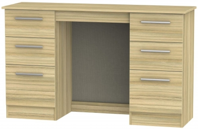 Buy contrast cocobolo 3 drawer desk online cfs uk