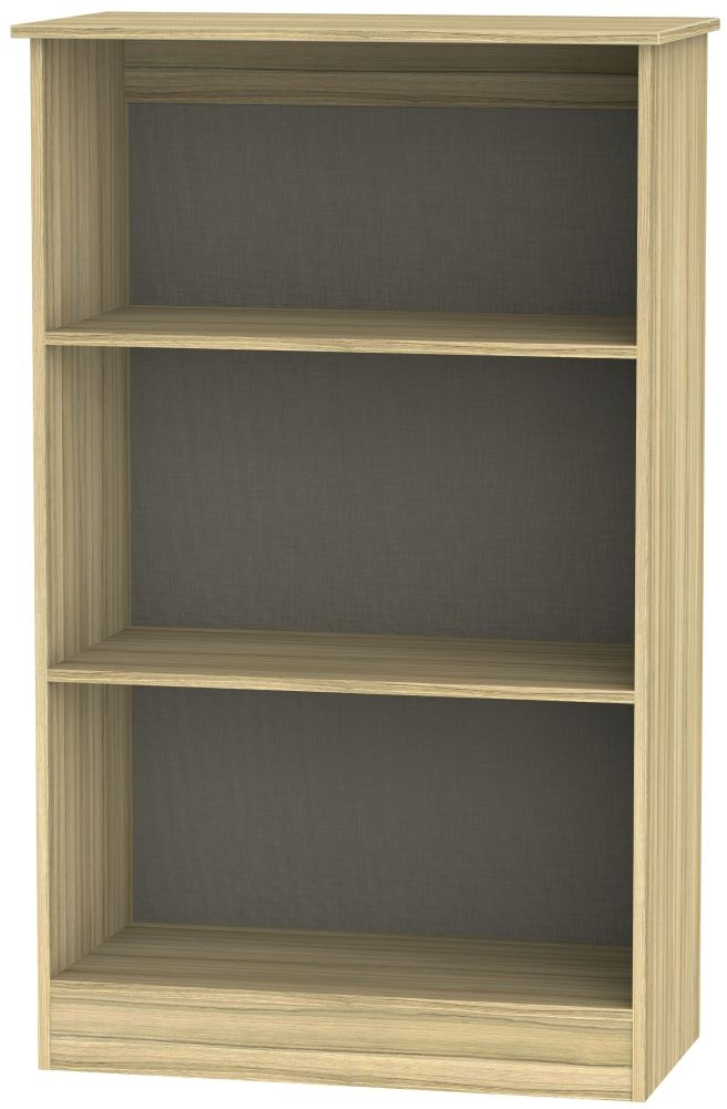Contrast Cocobolo Bookcase - 2 Shelves