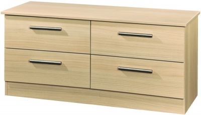 Contrast Elm 4 Drawer Bed Box