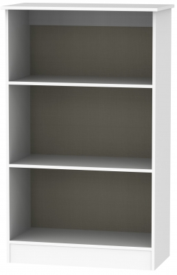 Contrast White Bookcase