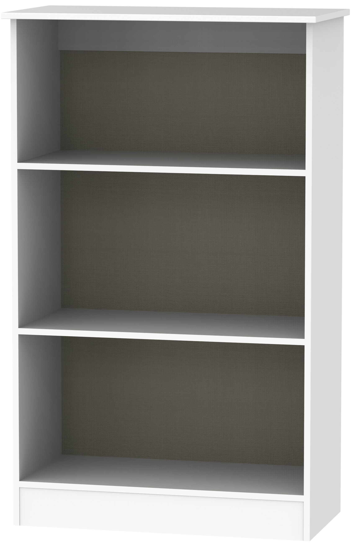 Contrast White Bookcase