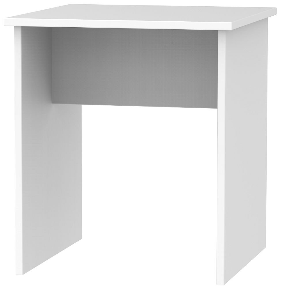 Contrast White Lamp Table