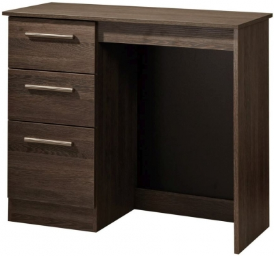 Contrast High Gloss Dressing Table - Vanity Knee Hole