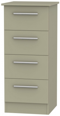 Contrast Mushroom 4 Drawer Tall Chest