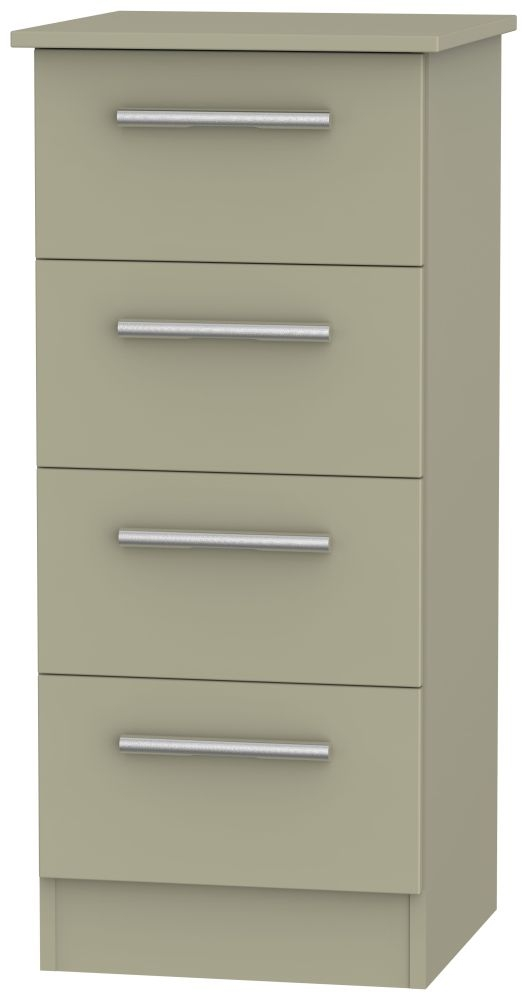 Contrast Mushroom 4 Drawer Locker Chest