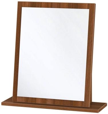 Contrast Noche Walnut Small Mirror