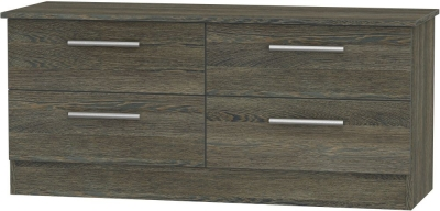 Contrast Panga Bed Box - 4 Drawer
