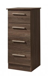 Contrast Panga Chest of Drawer - 4 Drawer Narrow