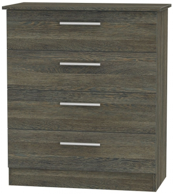 Contrast Panga Chest of Drawer - 4 Drawer