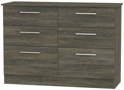 Contrast Panga 6 Drawer Midi Chest