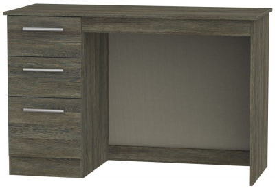 Contrast Panga Desk - 3 Drawer