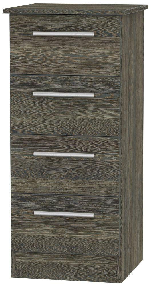 Contrast Panga Chest of Drawer - 4 Drawer Locker