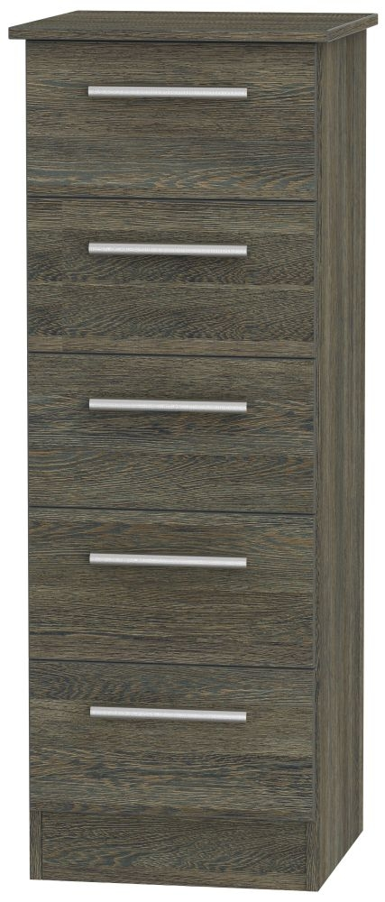 Contrast Panga 5 Drawer Tall Chest