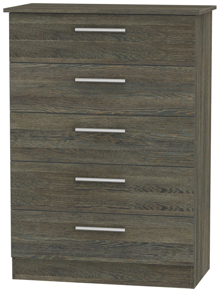 Contrast Panga 5 Drawer Chest