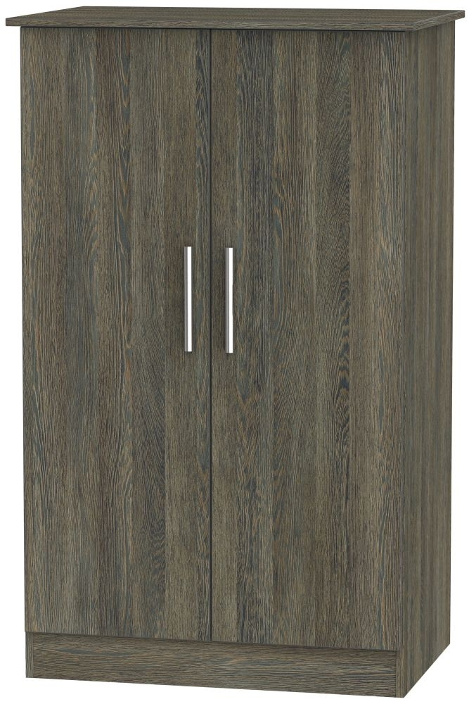 Contrast Panga Wardrobe - 2ft 6in Plain Midi