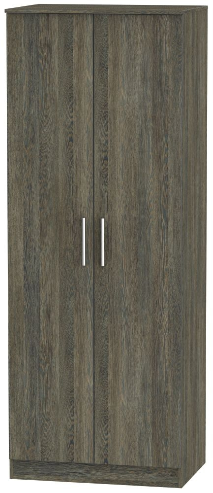 Contrast Panga Wardrobe - Tall 2ft 6in Plain