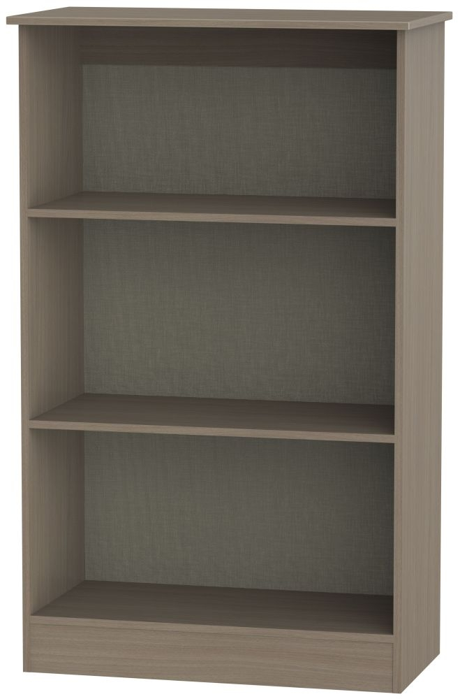 Contrast Toronto Walnut Bookcase - 2 Shelves