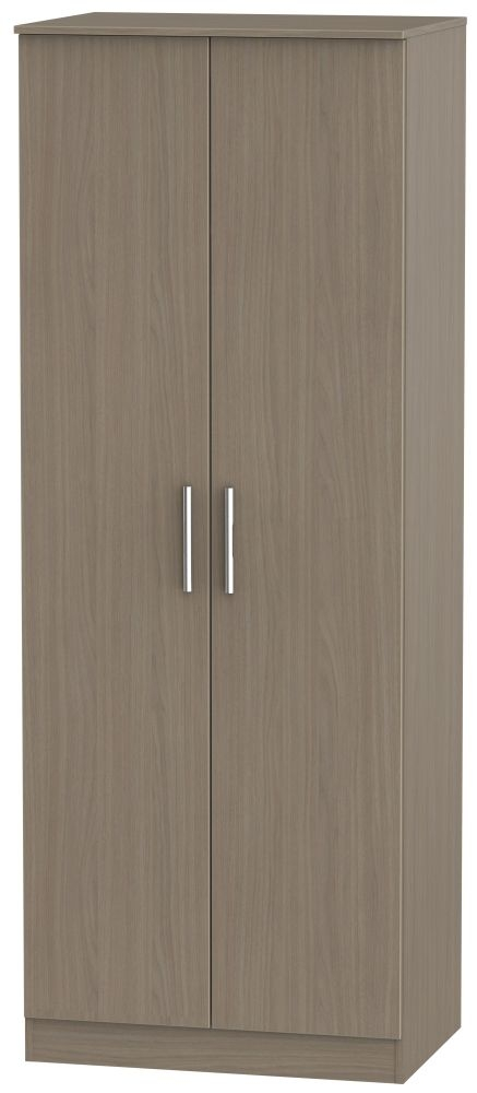 Contrast Toronto Walnut 2 Door Wardrobe