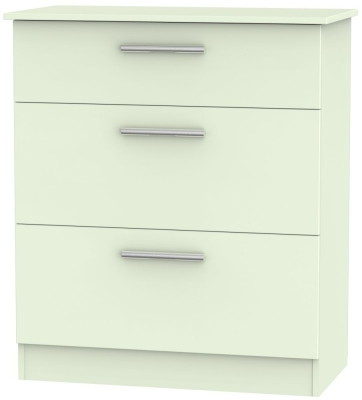 Contrast Vanilla 3 Drawer Deep Chest