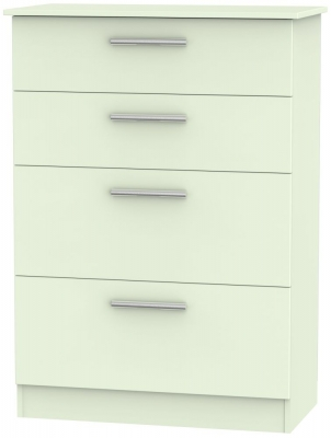 Contrast Vanilla 4 Drawer Deep Chest